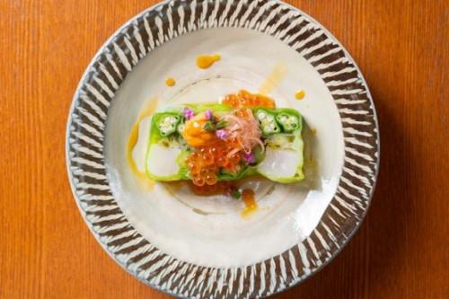 季節野菜のオホーツクテリーヌ